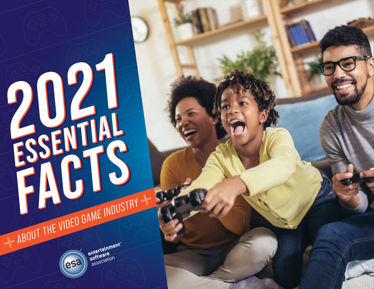 2021 Essential Facts About the Video Game Industry Cover